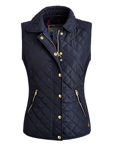 Womens Quilted Gilet by Joules Braemar Quilted Gilet Summer 2015