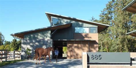 Residential Lighting Design equestrian residence rural west coast residential