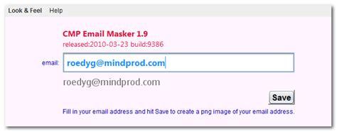 Masker Cmp by Free Cmp Email Masker 1 9 Build By Canadian Mind