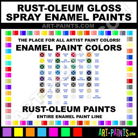 paint colors rust oleum gloss spray paint colors gloss