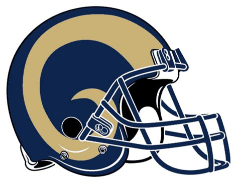 rams football helmet