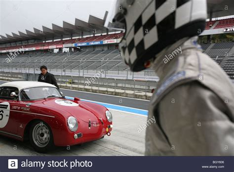 old porsche race car 1955 porsche 356 speedster le mans classic car race fuji