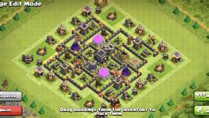 Th7 War Base Layout With Air Sweeper » Home Design 2017