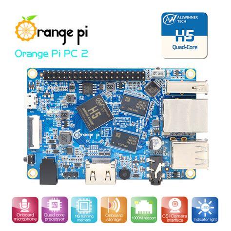 Promo Orange Pi One Mini Pc Mendukung Ubuntu Linux Dan Android deal orange pi pc2 allwinner h5 64bits 1gb ddr3 diy projects