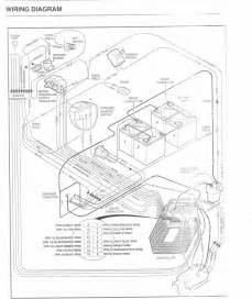 club car precedent battery wiring diagram photo