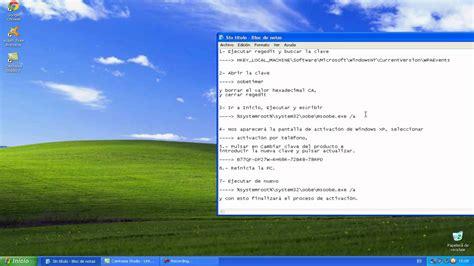 youtube tutorial windows xp tutorial convertir tu windows xp pirata a original youtube