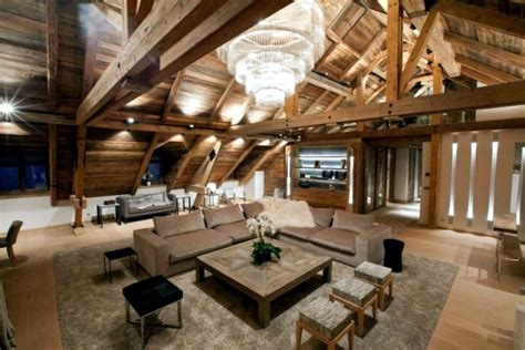 "Rustic and luxurious duplex apartment ""Frosty Winter"" by"