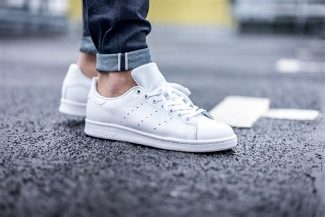 Adidas Stan Smith White adidas just dropped all white stan smiths malefashionadvice