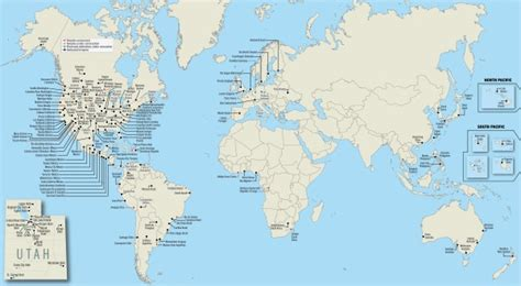 where is temple on the map map of all 150 operating lds temples worldwide 187 lds