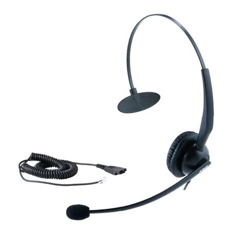 Headset Call Center Yealink Headset Yhs33 Professional Call Center Headset Alienvoip Voip Singapore