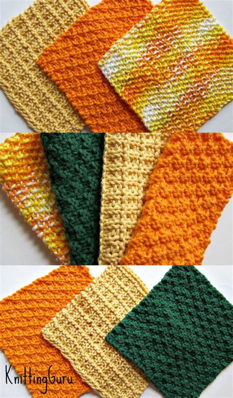 how to knit really fast 6 knit dishcloth patterns tutorials e book pdf fast