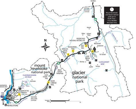 printable map glacier national park maps glacier national park