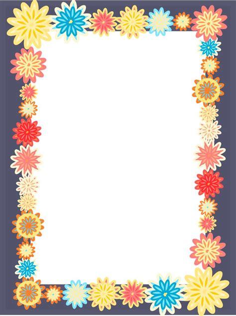 flower design for scrapbook free frames png free digital scrapbooking flower frames