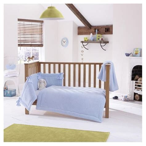 Tesco Nursery Bedding Sets Buy Clair De Lune 3pc Cot Bed Bedding Set Honeycomb Blue From Our All Baby Toddler Bedding