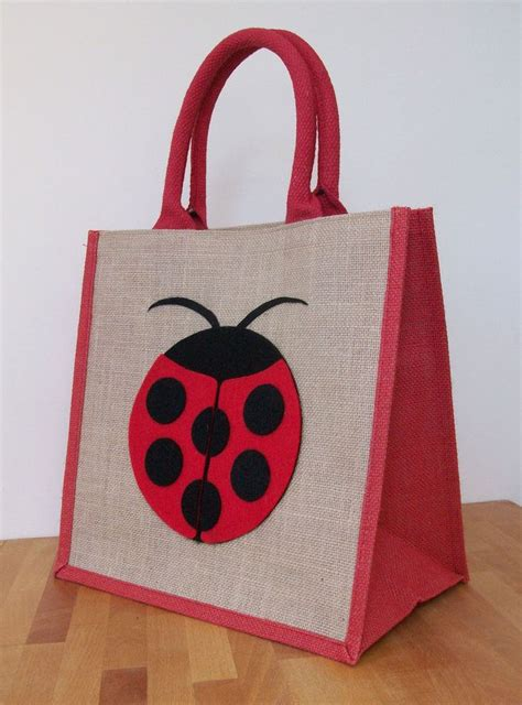 hessian tote bag pattern details about natural jute hessian medium wide red trim