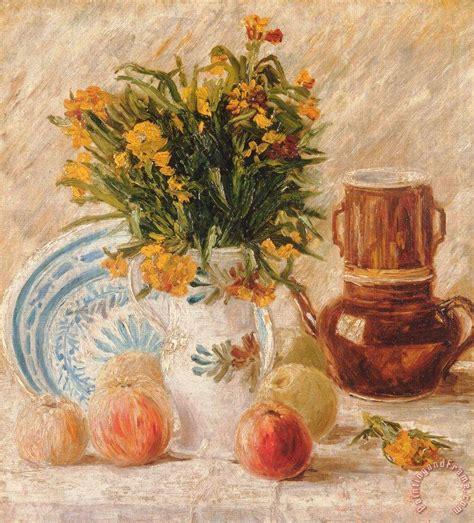 stilleven bloemen van gogh vincent van gogh still life painting still life print