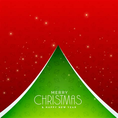 creative green christmas tree design background   vector art stock graphics images