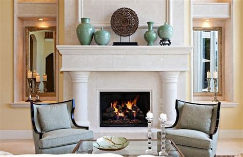 Living Room Mantel Decor by Mantling The Mantle