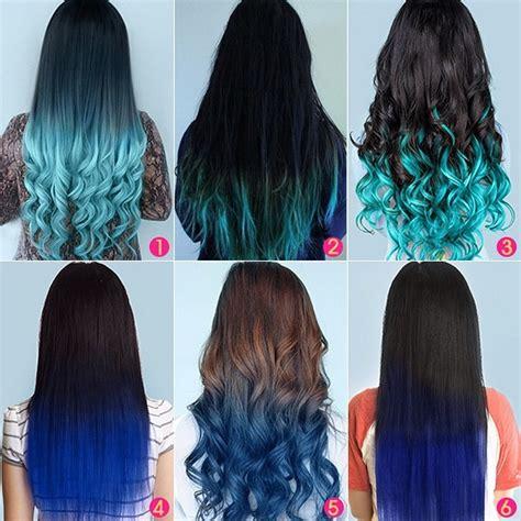 how to dye black hair blue blue ombre color for black hair archives vpfashion vpfashion