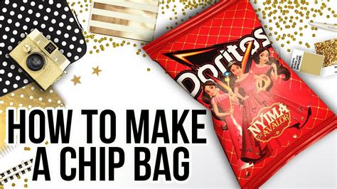 Custom One Of A Bags Chip by How To Make A Chip Bag