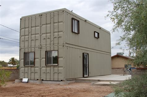 Storage Container Homes Touch The Wind Tucson Steel Shipping Container House