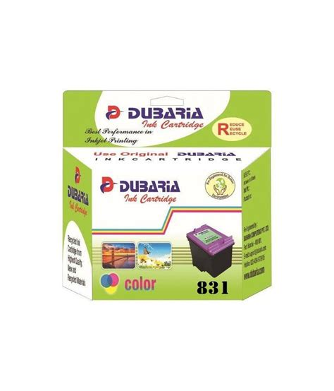 Canon Cl 831 Ink Cartridge dubaria 831 colour ink cartridge compatible for canon cl