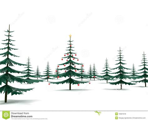 modern metal christmas tree in the fores royalty free