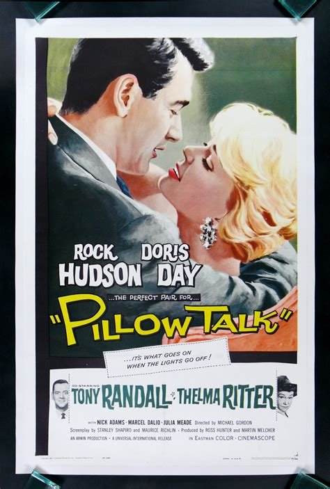 pillow tlk pillow talk cinemasterpieces doris day rock hudson