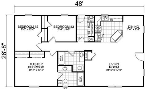 3 Bedroom 1 Bath House Plans by Best Of House Plans 3 Bedroom 1 Bathroom New Home Plans