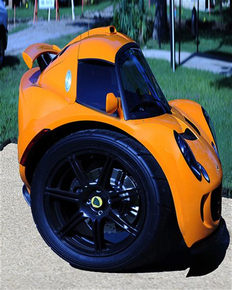 Lotus Exige Segway Small Concept Car   Cars show