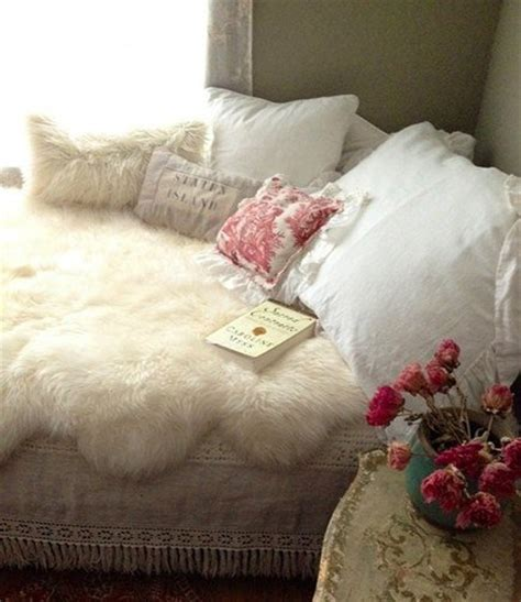 sheepskin comforter 7 cozy winter bedroom decorating ideas