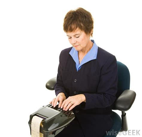 what is a stenographer with pictures