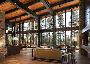 Tuscan 1 5 Story House Plans fabulous mountain modern retreat in the high sierras