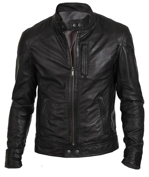 Yervant Jacket X S M L s biker hunt black motorcycle leather jacket ebay