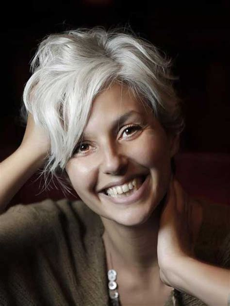 chic haircuts for gray hair very stylish short haircuts for women over 50 short