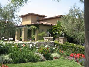 Rectangle House Plans One Story landscape ideas for mediterranean home landscaping
