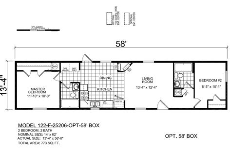 redman mobile home floor plans redman 25206 single wide showcase homes of maine