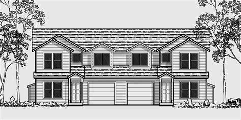 duplex townhouse plans duplex house plans 3 bedroom townhouse plans d 418