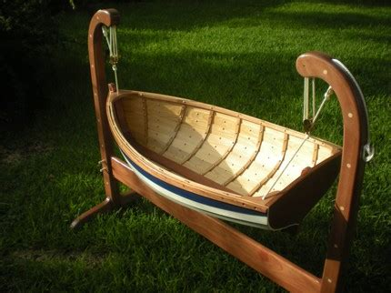 wooden boat baby cradle plans diy  plans