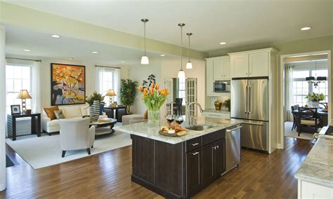 kitchen great room design highpointe at woodbury junction earns silver award for