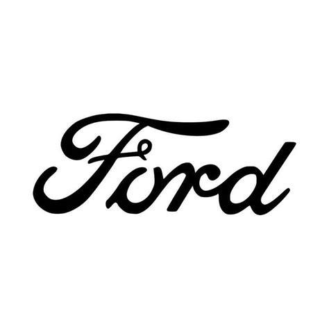 ford script logo vinyl decal sticker