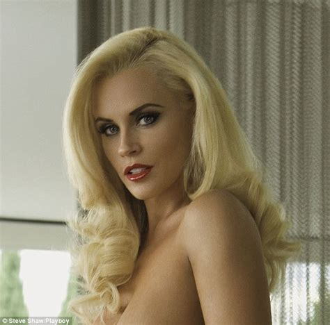 jenny mccarthy not real blonde inside jenny mccarthy s sophisticated playboy shoot