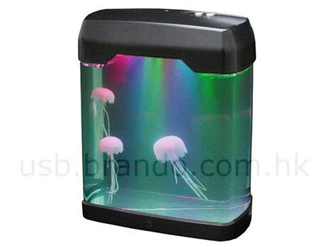 Usb Aquarium usb jellyfish mini aquarium with moody light