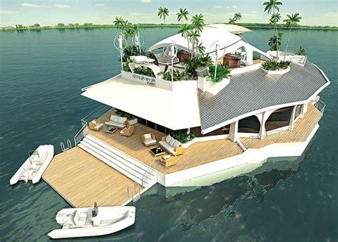boats ylands amazing floating island boat fan tas tic