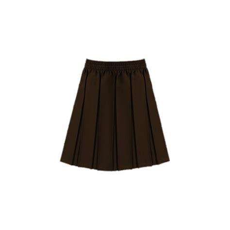 brown pleated skirt redskirtz