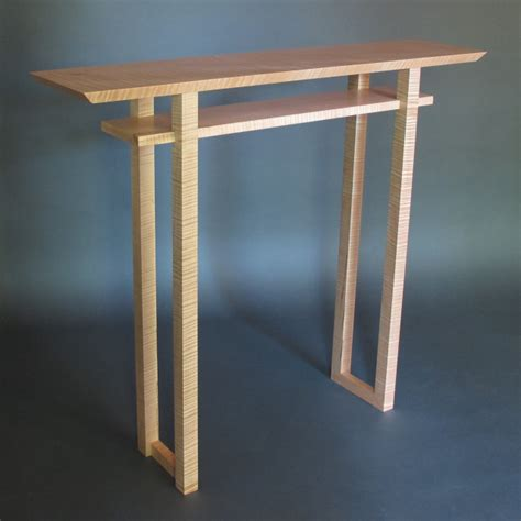 Modern Handmade Furniture - modern narrow console tables entry tables and