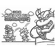 Dibujo De Super Mario World