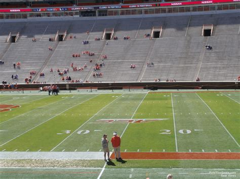 section q memorial stadium clemson section q rateyourseats com
