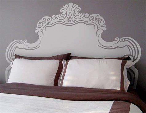 headboard wall sticker vintage bed headboard wall sticker contemporary wall