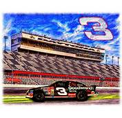 Dale Earnhardt Sr  The Intimidator Painting By Charles Ott